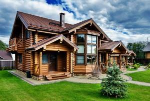дома из деревянного сруба